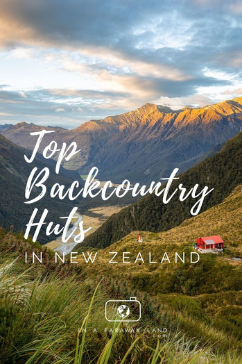 Eleven backcountry huts in New Zealand you should hike to and overnight in. #NewZealand #Hiking #Backcountry #Outdoors