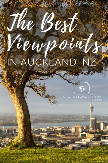Visiting a city doesn't have to mean spending time in museums and cafes. In Auckland, New Zealand's biggest city there are plenty of beautiful viewpoints you should check out! #New Zealand