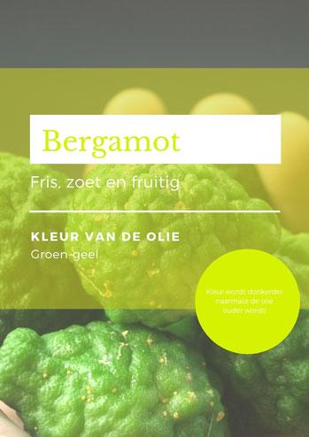 Bergamot olie beschrijving