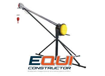 Cipsa  Polipasto eléctrico para elevación de materiales 325 Kg