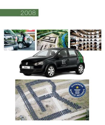 La voie du succès en 2008 dans le secteur Santé et Beauté avec LR Health & Beauty Systems - LR Polo Guinness World Record