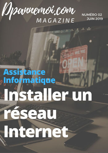assistant informatique, réseau internet