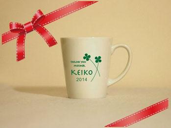 名入れマグカップ(白) ¥3,200