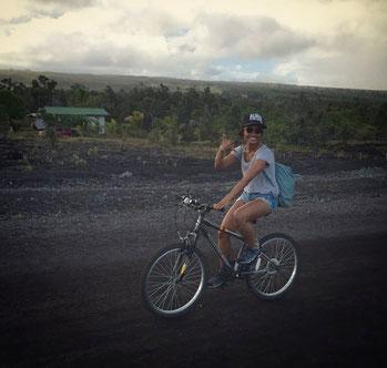 Auf dem Weg zur Lava