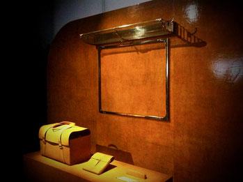 Fiac, Orient Express, Porte Manteau, Porte Manteau Mural, Sac de Voyage, Sac de Voyage Orient Express, Sac Weekend, Sac Luxe, Sac Cuir, Sac Marron, Sac Marron Orange, Art de Vivre