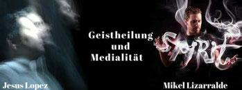 Geistheilung und Medialität mit Jesus Lopez und Mikel Lizarralde, Frankfurter Ring