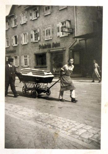 August Frey sen. etwa im Jahr 1948