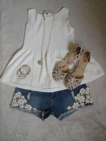 Diese Jeanshose habe ich 2nd Hand bei Sabrina's Shop gekauft (siehe alte Blogposts)