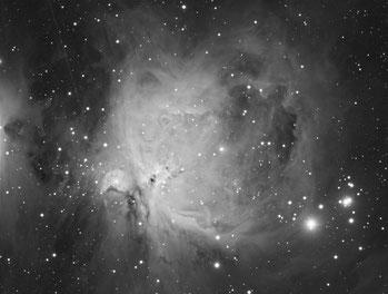 Nebulosa de Orión, Luminancia