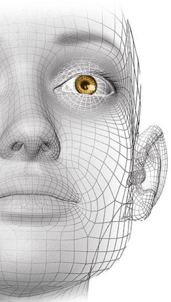 NeuroScanBalance Neurologie - Gesicht grau