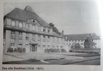 Die erste Trainingsstätte des Vereins