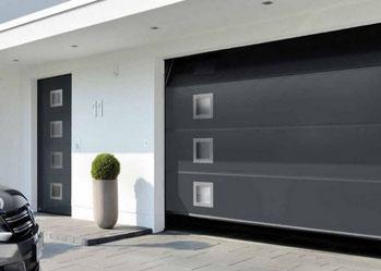 porte de garage sectionnelle - C-automatique