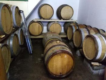 Elevage en fûts de chêne - Jan Tailler L'Arbre Viké - Vins des Côtes de Toul