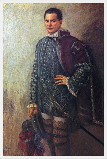 G. Verdi - DON CARLO - Rodrigo Marchese di Posa - Ritratto di Emilio Vitali (1901-1980)