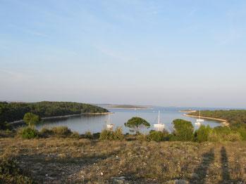 im Naturschutzgebiet Kamenjak