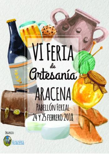 Programa de la Feria de Artesanía en Aracena