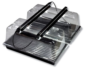 "Use 2 x 24"" LED Strip Lights to perfectly light two 1020 trays. For maximum performance use our SunBlaster NanoDomes."