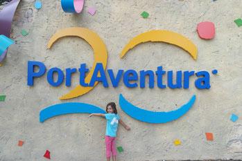 L'Anna Llorens des de PortAventura!!!!