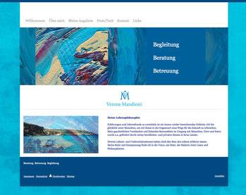 Website für Fr. Mandioni