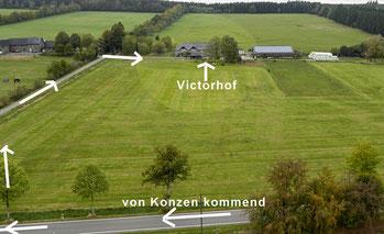 Anfahrt Victorhof Eifel