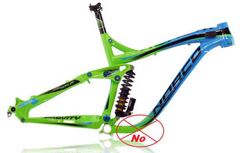 Clearance is not enought for this bike