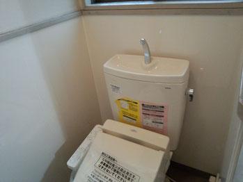 タイル貼りの和式トイレから腰掛便器へリフォーム2