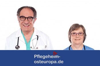 deutschsprachige Altersheime, Pflegeheime, Seniorenheime und Seniorenresidenzen in Polen, Tschechien, der Slowakei und Ungarn
