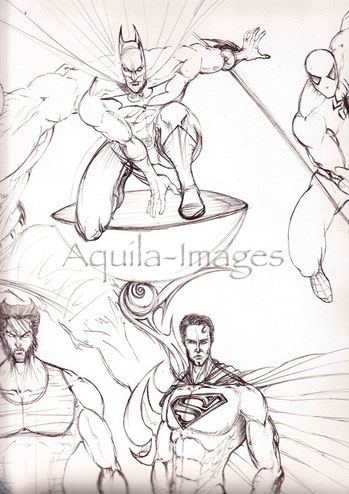 Boaz George-aquila-images-Comic Kunst