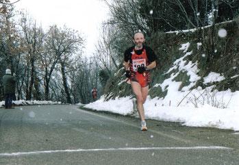 Maratonina della Cava (Forlì). Gran premio della montagna.