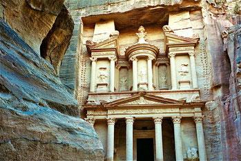 Haupthaus von Petra