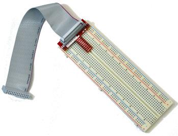 Raspberry Pi 用 GPIO 拡張ボード セット - ブレッドボードとケーブル付