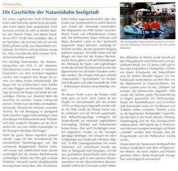 Bild: Seeligstadt Natureisbahn Geschichte