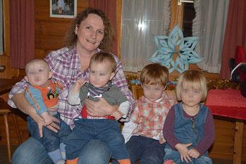 Meine Enkelkinder und ich (Stand Dez.2014)