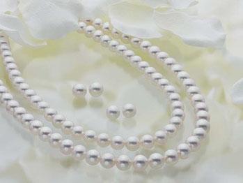 あこや真珠ネックレス&ペア珠