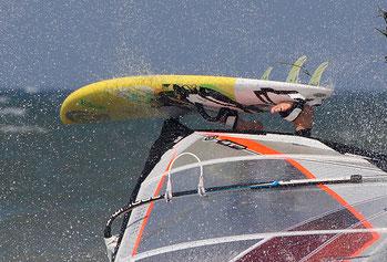 Bild:Windsurfen Niendorf Ostsee