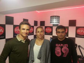 Juan Bautista & Lola Jalabert sur Radio RPA