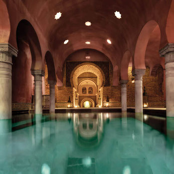 Arabisches Bad in Granada