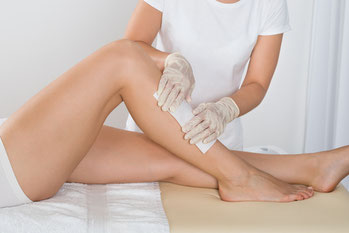 waxing legs strip wax mobile home visit st albans herts professional