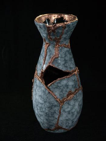 David Bergmann kupfer galvanisieren Lukas Wegwerth vase vasen