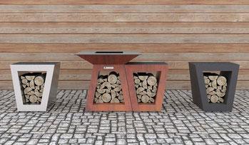 Grills von Quan Garden Art im Marks Grillhaus in Schleswig