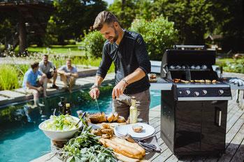 Outdoorchef Grills im Marks Grillhaus in Schleswig