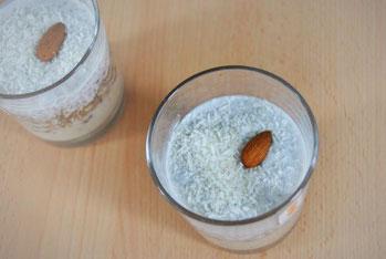 Detox Rezept: Bananen-Kokos-Chia-Nachtisch