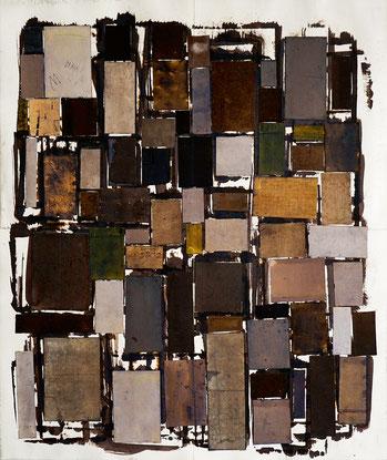 Köln, 16.5.2019, Tinte auf Papier, 63,3 x 53,4 cm, 2019
