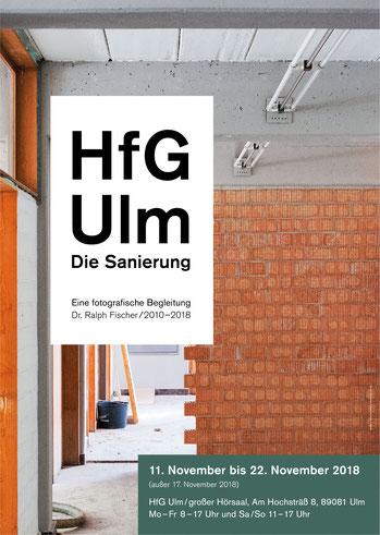 Ralph Fischer Publikationen HfG Ulm - Die Sanierung