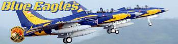 Indonesian Air Force blue eagles t50i golden patrouille aerienne acrobatics team