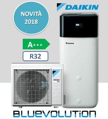Daikin Altherma Compact R32 4KW + Boiler da 300l