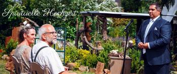 Spirituelle Hochzeit mit Jesus Lopez, Trauung, Trauredner