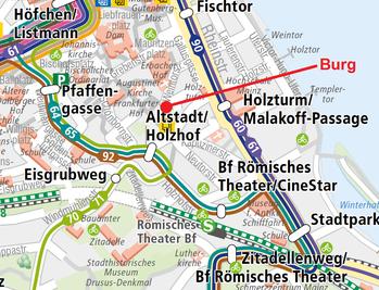Buslinien Bildquelle: mvg-mainz.de