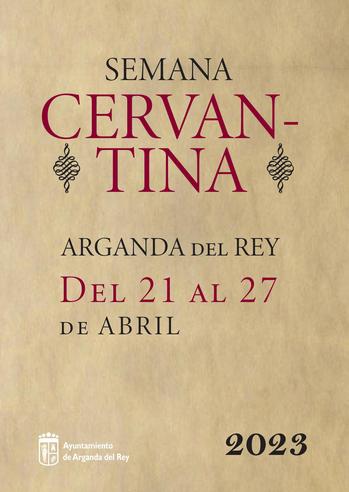 Programa de la Semana y Mercado Cervantino de Arganda del Rey