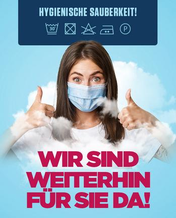 Versandreinigung-mueden.de, Kleiderverleih-Reinigung, Bild hygienische Sauberkeit